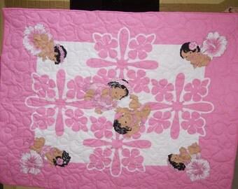 Hawaiian Baby Quilt