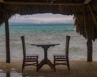 Honeymoon Table, Tatch Caye, Belize