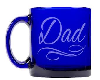 Colbalt Blue Coffee Mug 13oz -9261 Dad