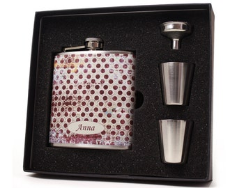 Personalized Hip Flask for Men and Women