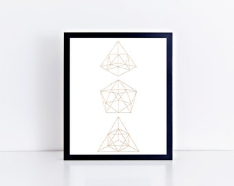 "Home Prints: Geo 1 // 8x10"" Printable"