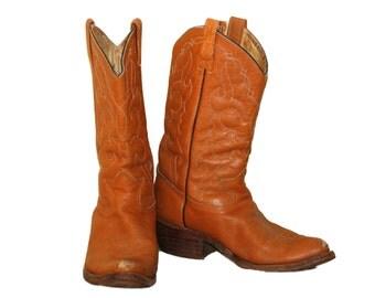 70s Cowboy Boots Mens Size 10 womans size 11