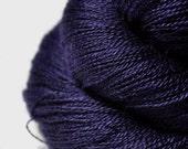 Königin der Nacht - BabyAlpaca/Silk Lace Yarn