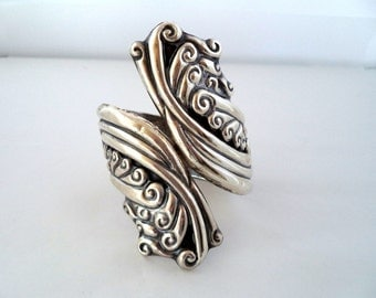 TAXCO Sterling Wrap Clamper Cuff Bracelet Mexico, Signed CP