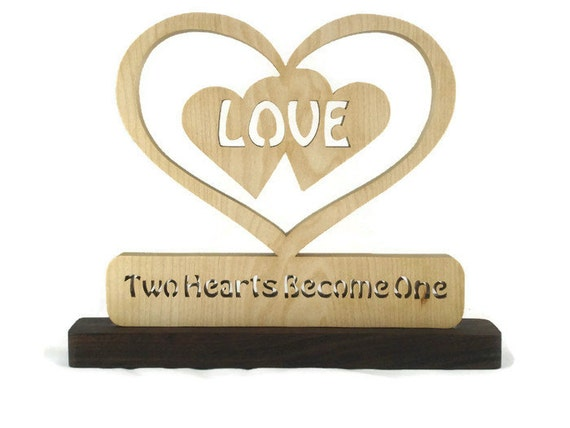 two hearts one love wedding decorations wedding gift decor hearts inside two 8138
