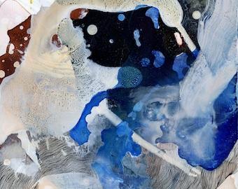 Vim VI / Giclee print / organic / contemporary art / abstract painting