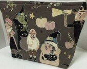 Hagatha's Halloween - Large Zippy Poor Girl Project Bag