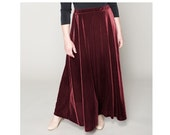 A-line Velvet Skirt 4 lengths Misses & Plus Sizes 2-28