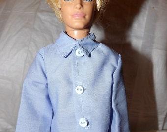 Collard dress shirt for male Fashion Dolls - kdc42