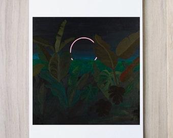 Digital Print - Jungle Eclipse -
