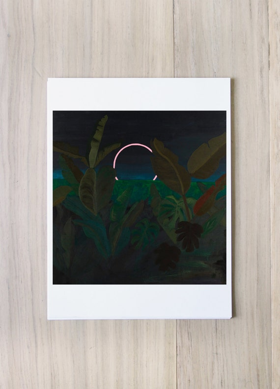 Digital Print - Jungle Eclipse -