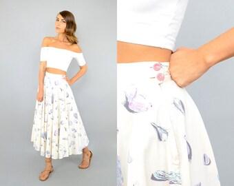 50's Seashell NOVELTY Skirt