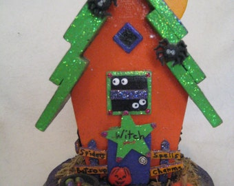 Witches House// Halloween House//Haunted House//Halloween Decoration