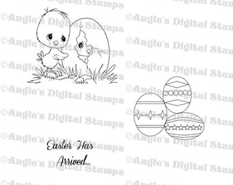 Easter Digital Stamp Set #2