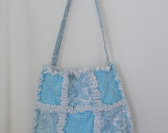 Rag Quilted Tote