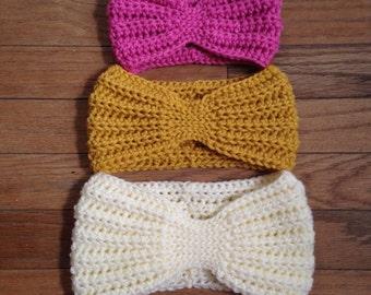 Child earwarmer, toddler earwarmer, kids earwarmer, crochet earwarmer, hair wrap, crochet headband, winter ear warmer