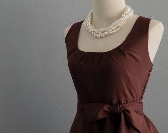 chocolate dress brown dress dark brown dress brown party dress brown vintage dress style brown bridesmaid dresses brown sundress