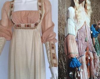 Vintage Gunne Sax Renaissance Festival Dress - circa 1970s