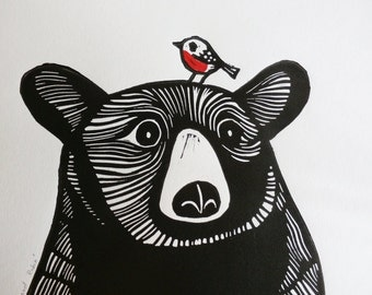 """Shop """"bear"""" in Art & Collectibles"""