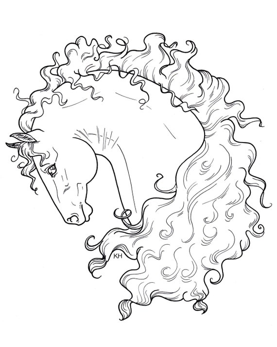 hose pages pinto coloring pages
