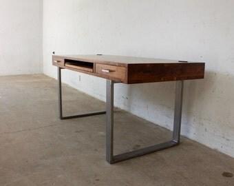 Modern Walnut Desk