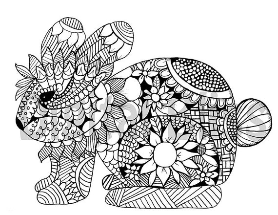 whimsical flower coloring pages - photo#36