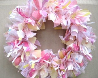 Nursery Decor, Newborn Baby Girl Wreath, Baby Door Wreath, Baby Shower Wreath, Baby Girls Room Decor, Wreath for Hospital Door, Its A Girl