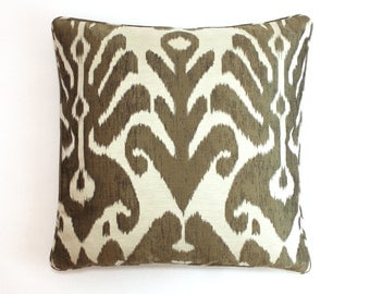 Dedar Ikat (Both Sides) Pillows with Self Welting in 9008/02-comes in 8 colors