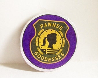 Parks & Rec Pawneee Goddesses  Magnet