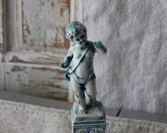 Vintage ceramic cherub