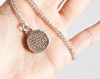 Ancient coin charm necklaces