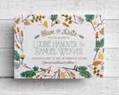 Fall Save the Date - Sample
