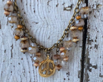 Peace & Ice Necklace - NJC-152