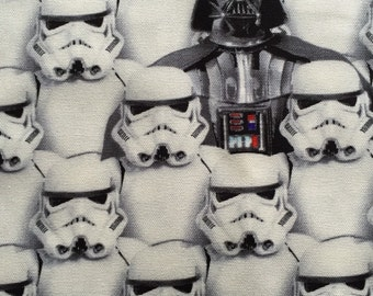 Star Wars fabric Half yard white colour