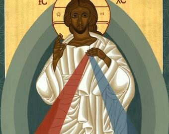 Icon of Divine Mercy Print