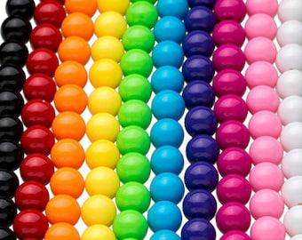 25 GUMBALL Beads 12mm Chunky Beads Bubblegum Resin Round
