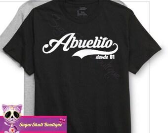 Father's day!! Abuelito - Abuelo - Latino - Grandpa Father's Day T Shirt - Mexican - Hispanic - Dad - Papa - Papi - Padre - Feliz dia de los
