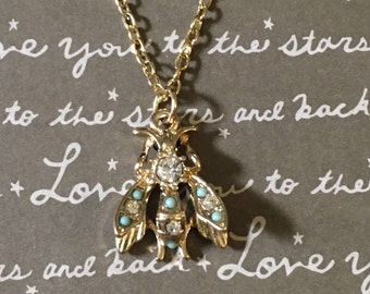 Gorgeous wasp necklace