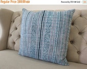 "18""X18"" Vintage Cushion  Batik Hmong textiles, Handwoven Fabric,Scatter cushions and pillows,"