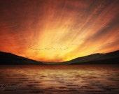 Scotland Sunset 8x10 Fine Art
