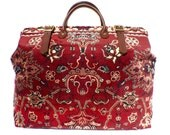 Carpet Bag, Weekender / Overnight / Carry on / Agra Carpet Travel Bag