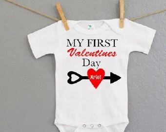 Valentines Day Onesie - Personalized Tshirts or Onesie-