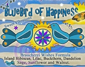 Blue Bird of Happiness Wishes Lilac and Hibiscus Herbal Wax Melts for  Magick, Prayer, Spells or Ritual