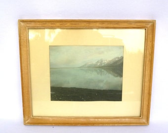 Rare ORIGINAL HAYNES PHOTO/ Glacier National Park
