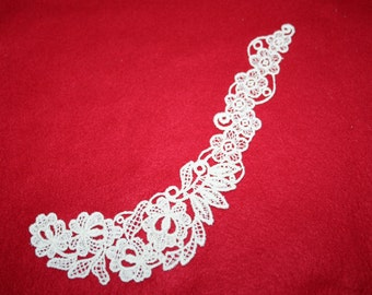 Embroidered Lace Appliques
