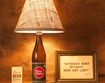 Pliny Bottle Lamp Russian River 22oz Beer Gift Free US Shipping