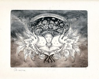 Chimera (Original Etching with Aquatint Print)