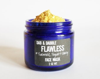 Turmeric Face Mask | Natural Facial Cleanser | Face Scrub | Honey Mask | Skin Brightening Turmeric Mask  | Facial Mask For Acne Scar
