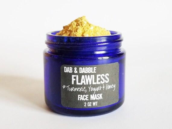 Turmeric Face Mask | Natural Facial Cleanser | Face Scrub | Honey Mask | Skin Brightening Turmeric Mask  | Facial Mask For Acne Scar
