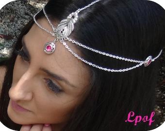Hair Jewelry Headpiece Wedding Headpiece Bridesmaid Prom Formal Accessory Festival Head Jewelry Head Chain Headpiece Boho Headband - Berri